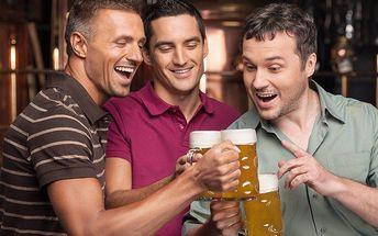 Letní osvěžení: piva Bernard v baru Indián