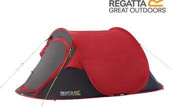 Campingový stan pro 2 osoby Regatta RCE001 MALAWI 2 Pepper malawi2
