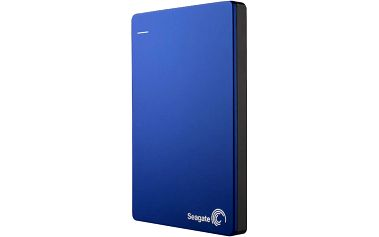 Seagate BackUp Plus - 2TB + 200GB OneDrive, modrá - STDR2000202