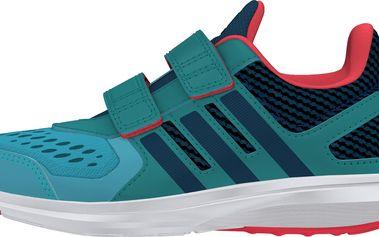 Adidas Chlapecké běžecké tenisky Hyperfast - zeleno-modré