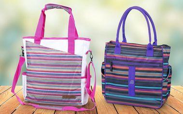 Dámské pruhované tašky Alpine Pro