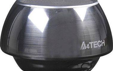 A4tech BTS-02, BT, stříbrná