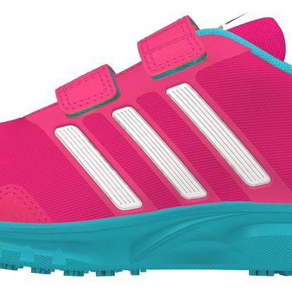 Adidas Dívčí běžecké tenisky Runfastic - růžové
