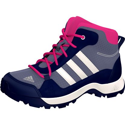 Adidas Dívčí outdoorová obuv Hyperhiker - fialové