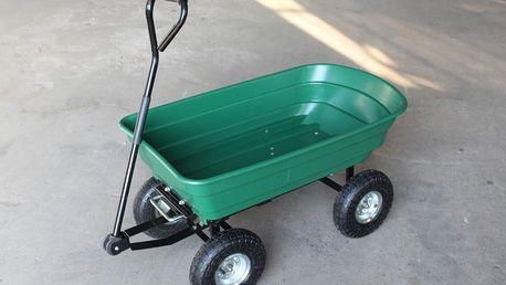 Zahradní vozík Horneet SA042, nosnost až 200 kg! Doprava zdarma.