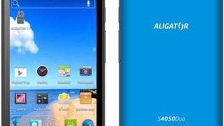ALIGATOR S4050 Duo modrá metalíza; AS4050BE