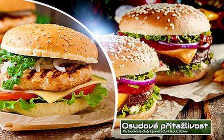 200g tatarák + topinky či 400g roastbeef + příloha až pro 3 osoby - restaurace Osudová přitažlivost