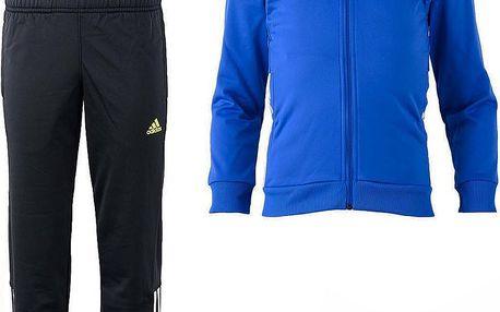 Adidas Chlapecká tepláková souprava, modro-šedá