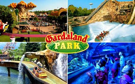 Letní zájezd do zábavního parku Gardaland včetně vstupenky