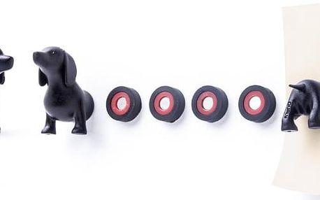 Sada magnetů QUALY Magnetic Dog, jezevčík