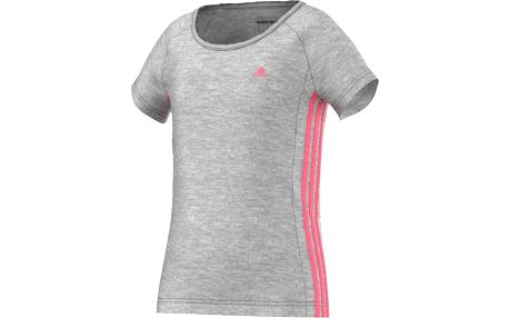 Adidas Dívčí tričko, šedé