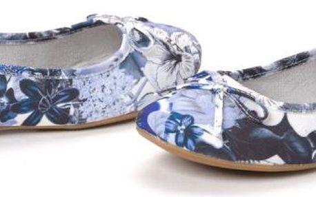 s.Oliver dámské baleríny 38 modrá