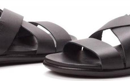 s.Oliver pánské kožené sandály 41 černá