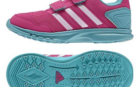 adidas Dívčí běžecké tenisky Runfastic - růžové, EUR 30