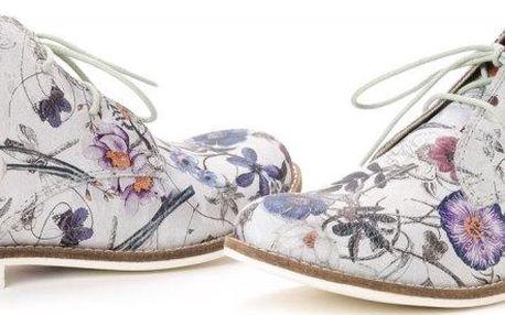 s.Oliver dámská kotníčková obuv 41 stříbrná