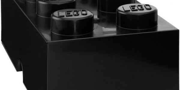 LEGO Storage box 25x50 cm, černá