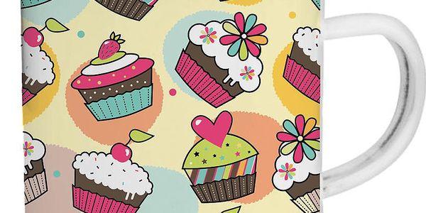 Smaltovaný hrnek Cupcake TinMan, 200 ml