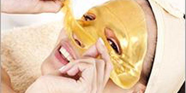 Dopřejte si doma zlatou kolagenovou masku jako z kosmetického salonu! Luxusní a omlazující prostředek pro vaši krásu.