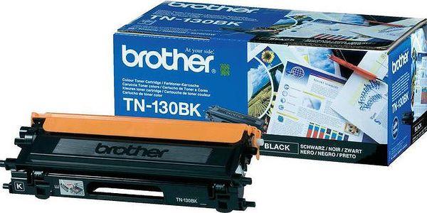 Brother TN-130BK, černý - TN130BK + Fotopapír Safeprint pro laserové tiskárny Glossy, 135g, A4, 10 sheets v hodnotě 100Kč