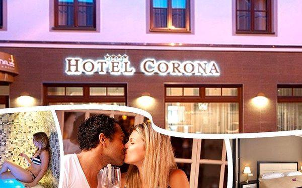 Dovolená v luxusním hotelu Corona**** pro dva, snídaně, vstup do wellness, fitness, masáže zad aj.