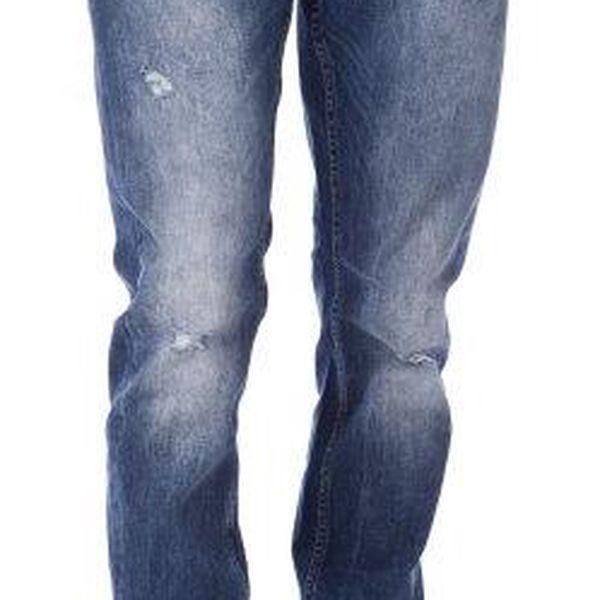 Mustang pánské jeansy Oregon 33/32 modrá