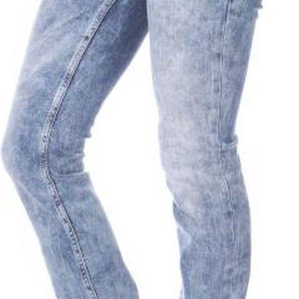 Mustang dámské jeansy Jasmin 28/32 modrá