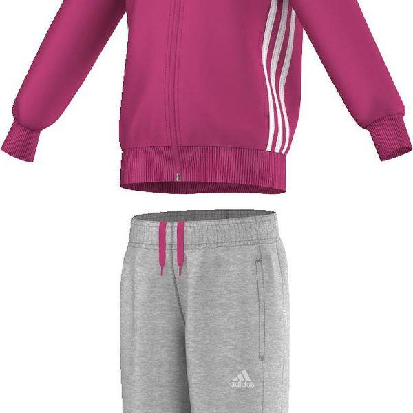 Adidas Dívčí tepláková souprava ESSENTIALS HOJO TRACK SUIT AK2787
