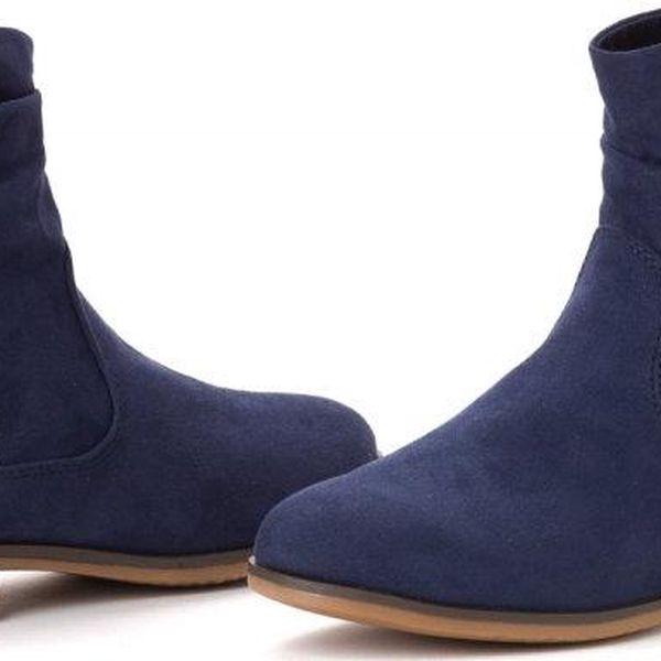 s.Oliver dámská kotníčková obuv 36 tmavě modrá