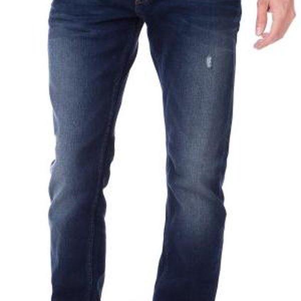 Mustang pánské jeansy Michigan 35/32 modrá