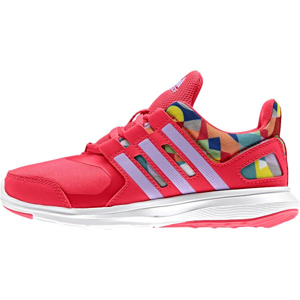 Adidas Dívčí běžecké tenisky Hyperfast - růžové