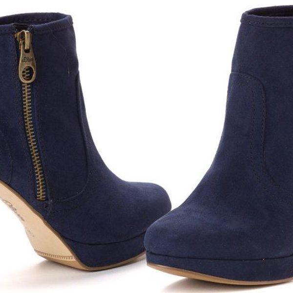 s.Oliver dámská kotníčková obuv 41 tmavě modrá