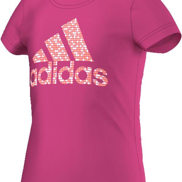 Adidas Dívčí tričko Logo Tee Junior AK2058