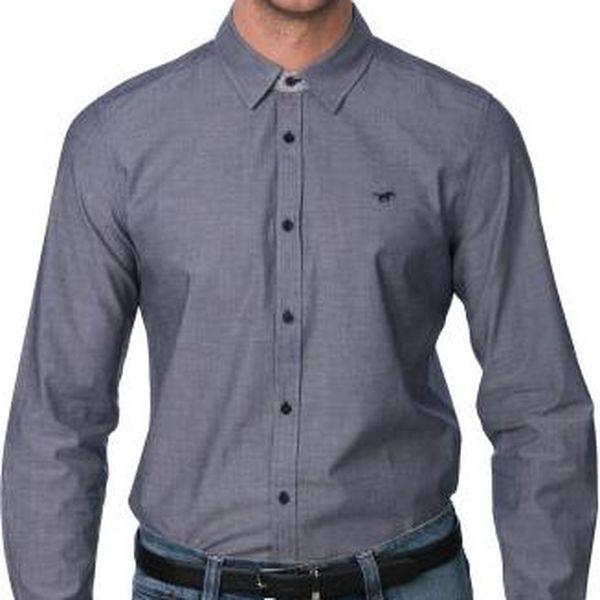 Mustang pánská košile XL šedá