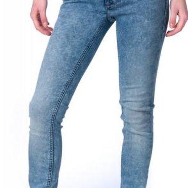 Mustang dámské jeansy Gina Jeggins 25/34 modrá