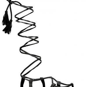 Dámské černé sandály Blance 6011