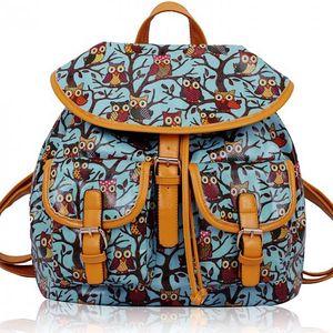 Dámský batoh Owl 270 modrý