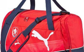 Puma Czech Republic evoPOWER Medium Bag red-white