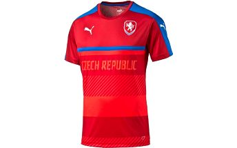 Puma Czech Republic Training Jersey chili pepper S