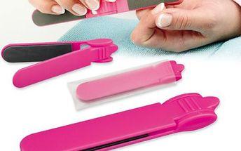 Praktický pilník na nehty do tašky - dodání do 2 dnů