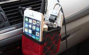 Multifunkční kapsa do auta