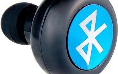 Mini Stereo Bluetooth Headset černý