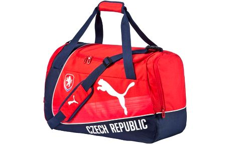 Puma Czech Republic evoPOWER Medium Bag red-white