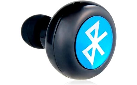 Mini Stereo Bluetooth Headset černý