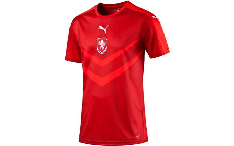 Puma Czech Rep Home B2B Shirt chili pepper S