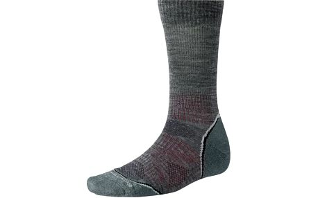 SmartWool PhD Outdoor Light Crew Medium Gray XL