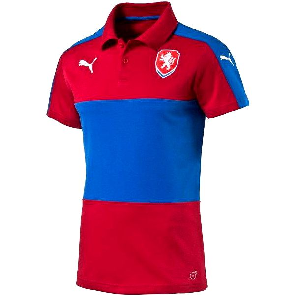 Puma Czech Republic Casuals Polo chili pepper XL
