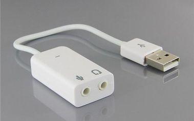 Zvuková karta 7.1 s USB rozhraním