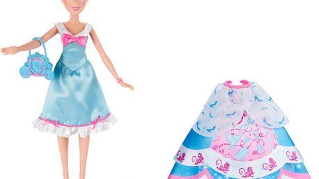Disney Princess panenka s náhradními šaty - Popelka