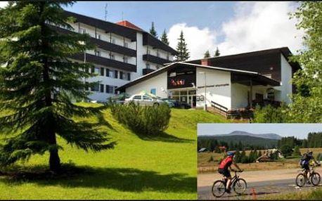Prázdniny na Šumavě: 4 dny pro 2 s polopenzí, kávou a slevami v Sporthotelu Olympia