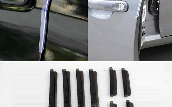Ochranná lišta na hranu dveří - 3 barvy